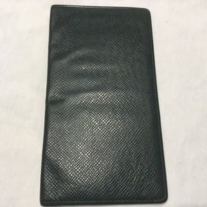 Louis Vuitton Wallet Check book Credit Card Cover